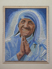Mother Teresa Mosaic In The Mo...