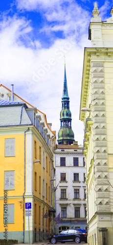 Poster Stockholm Latvia.Riga