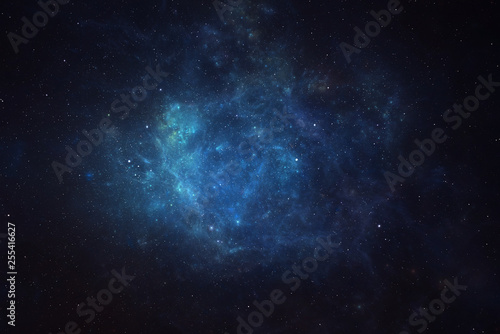 Fotografie, Obraz Universe filled with stars, nebula and galaxy