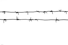 Barbed Wire Abstract Background