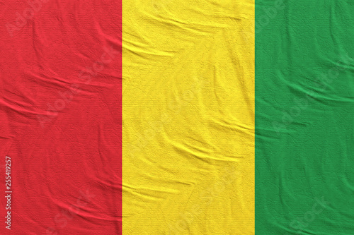Fotografía  Guinea flag waving