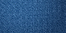 Denim Texture Banner Background. Jeans Apparel Texture.