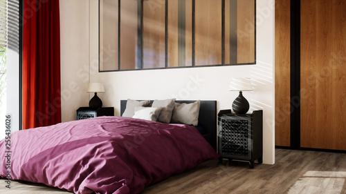 chambre avec dressing, verrière et grand lit 02 – kaufen Sie diese ...