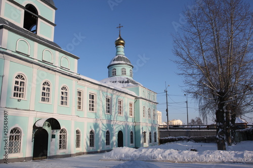 Fotografia, Obraz  Church Of The Beheading Of John The Baptist in Saransk, Mordovia republic of Rus