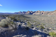Red Rock Canyon In Las Vegas, Nevada.