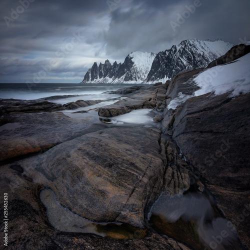 Photo  Tugeneset cloudy coast