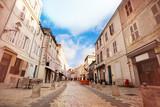 Fototapeta Uliczki - Street - Rue St Jean du Perot in La Rochelle