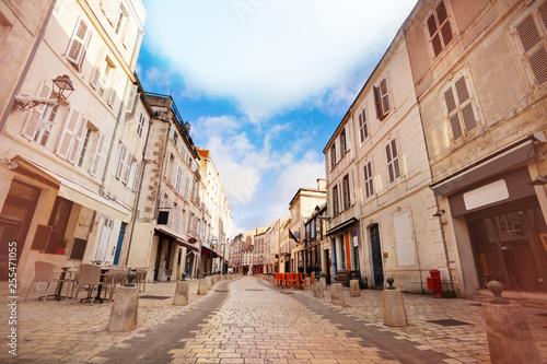 Poster Zalm Street - Rue St Jean du Perot in La Rochelle