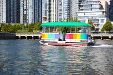Aquabus Or Water Taxi On False...
