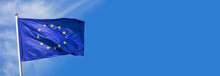 Flag Of The European Union Wav...
