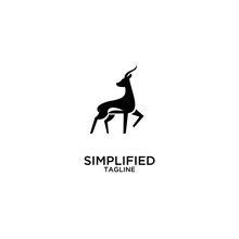 Impala Jump Stylish Logo Icon ...