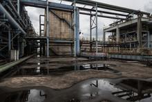 Industrial Buildings In An Aba...