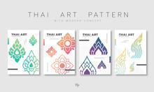 Set Of Thai Pattern
