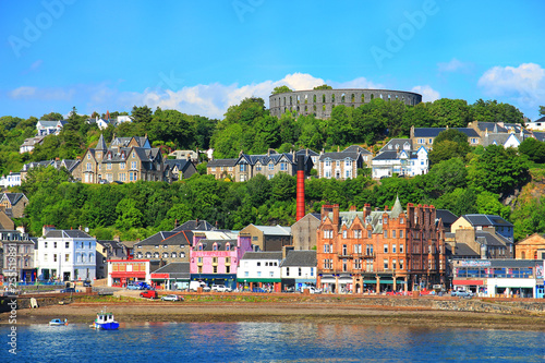 Oban, the town in Scotland Canvas Print