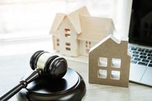 Judge Gavel / House Model, Ide...
