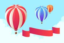Isometric Hot Air Balloon