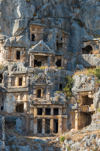 Photo Ruins of the ancient city of Myra