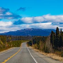 Alcan Thru Great Yukon Territory Outdoors Canada