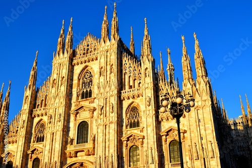 Fotografie, Obraz  Milan Cathedral is the cathedral church of Milan, Lombardy, Italy