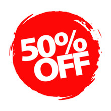 Special Offer, 50 Percent Disc...