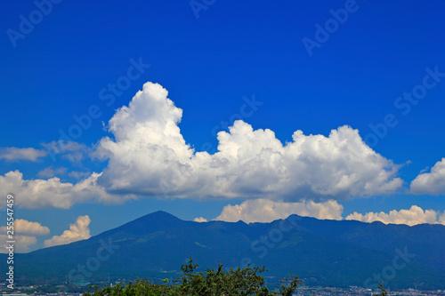 Photo sur Toile Bleu fonce 空 雲