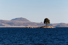 Jezioro Titicaca Po Stronie Boliwii