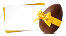 Easter Gift Card With Chocolat...