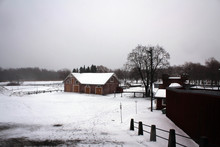 Tavastia Castle View By Winter...