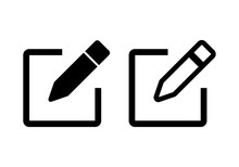 Edit Icon Vector. Pencil Icon. Sign Up Icon Vector