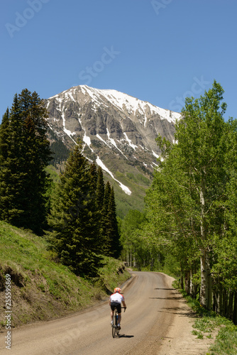 Fotografie, Obraz  Summer Ride to Gothic Mountain