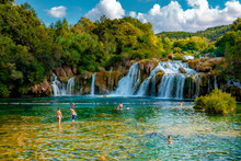 KRKA Waterfalls, Krka National...