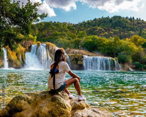 KRKA Waterfalls, krka national park Croatia Fototapete