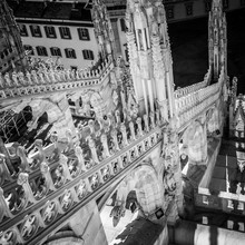 Milan Duomo Night Sculpture Gr...