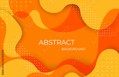 Dynamic colorful vibrant wave colorful background - Vector