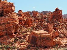 Valley Of Fire National Park In Nevada, Red Rock Formations