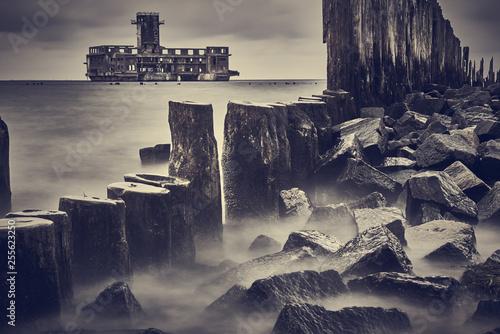 Obraz Torpedownia w Gdyni  - fototapety do salonu