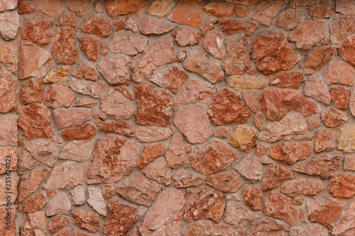 In de dag Stenen Masonry. Natural stone texture.