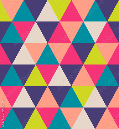 Keuken foto achterwand ZigZag Elegant luxury triangular geometry pattern. Abstract stock vector illustration. for surface design, cover, wrapping paper, vip projects.