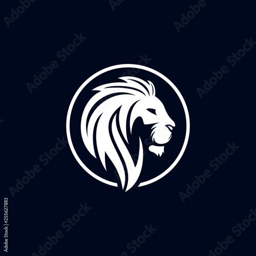 Fototapety, obrazy: Lion Logo Vector Template