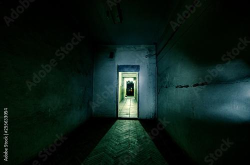 Dark corridor Poster Mural XXL