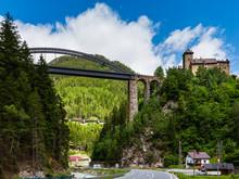Trisanna Bridge And Castle Wiesberg