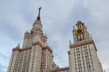 Towers Of Lomonosov Moscow Sta...