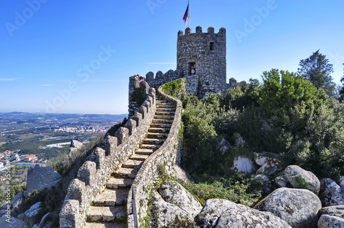 Photo Moorish Castle in Sintra, Portugal