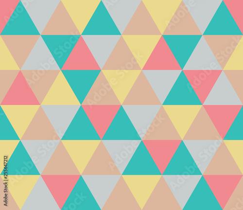Keuken foto achterwand ZigZag Seamless geometric pattern. Seamless abstract triangle geometrical background. Infinity geometric pattern. Vector illustration.