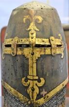 Helmet Of A Medieval Knight