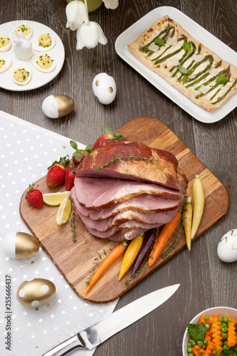 Fotografie, Obraz  Spicey Ham For Easter