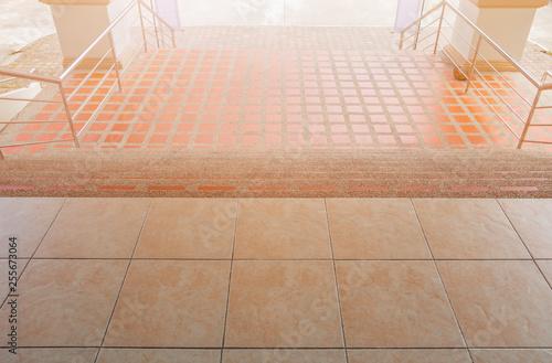 Stairs Walkway Down Terrazzo Flooring Outdoor Building Buy