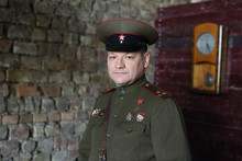 Officer Of The Soviet Army.