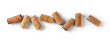 Whine Corks Isolated On White
