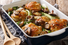 Healthy Food Baked Chicken Thi...